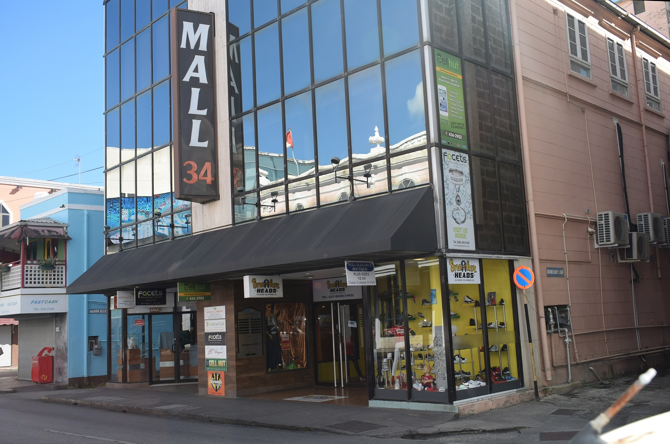 Mall 34, Broad Street, Bridgetown
