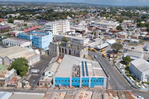 Coles Building Aerial